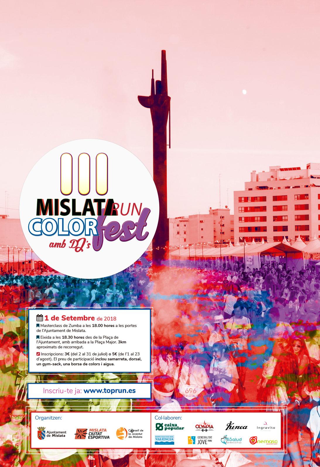 B Kid y Mislata Run Color Fest