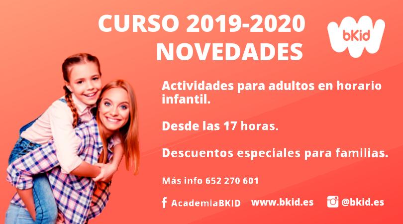 novedades bkid curso 2020